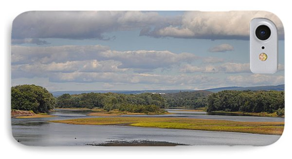 The Susquehanna River At Kingston Pa. Phone Case by Bill Cannon