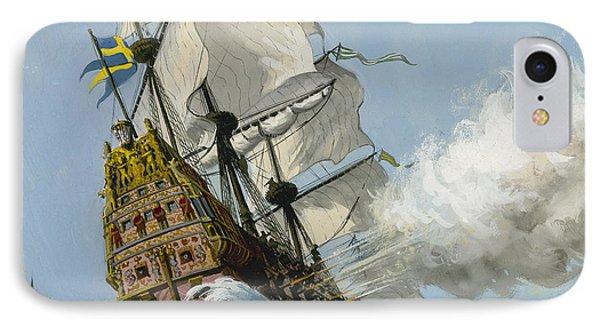 The Swedish Warship Vasa IPhone Case
