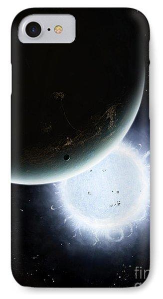 The Tiny Moon Rakka Ume Travels Phone Case by Brian Christensen