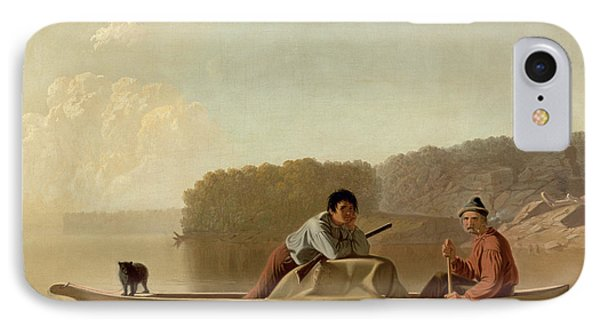 The Trapper's Return Phone Case by George Caleb Bingham