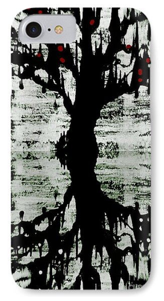 IPhone Case featuring the painting The Tree The Root by Amy Sorrell