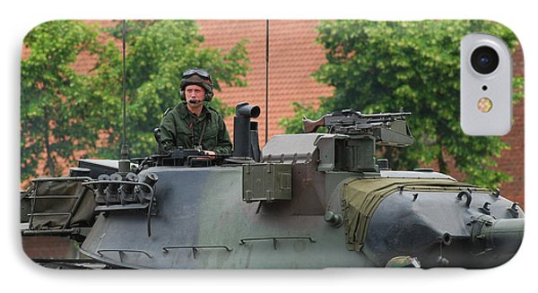 The Turret Of The Leopard 1a5 Main Phone Case by Luc De Jaeger