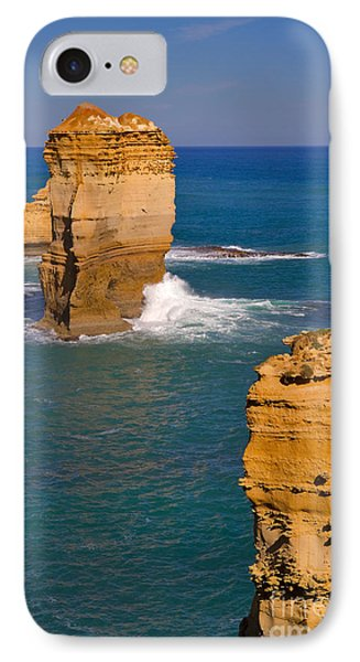 The Twelve Apostles In Port Campbell National Park Australia Phone Case by Louise Heusinkveld