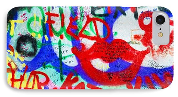 The U2 Wall, Windmill Lane, Dublin Phone Case by The Irish Image Collection