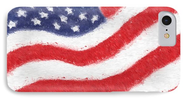 The United States Flag Phone Case by Heidi Smith