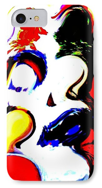 The Unmasking Of Youth Phone Case by Jackie Bodnar