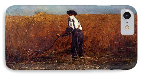 The Veteran In A New Field IPhone Case by Winslow Homer
