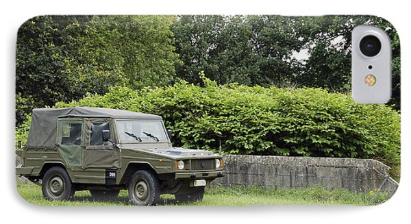 The Vw Iltis Jeep Used By The Belgian Phone Case by Luc De Jaeger
