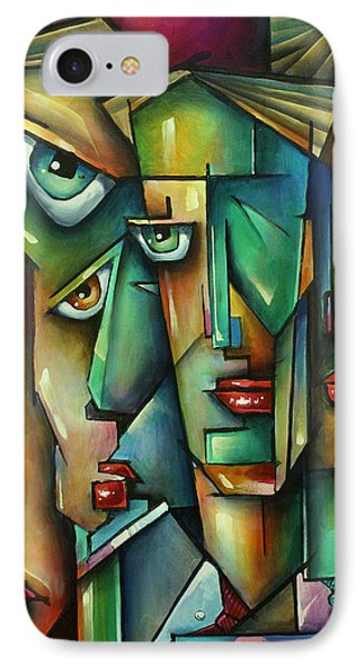 The Wall Phone Case by Michael Lang