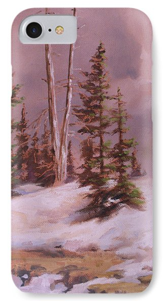 The Wasatch Divide Plein Air Phone Case by Mia DeLode