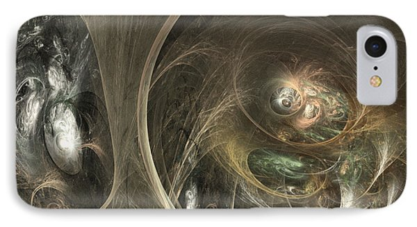 The Watcher Of Two Worlds Phone Case by Sipo Liimatainen