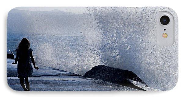 The Wave Phone Case by Joana Kruse