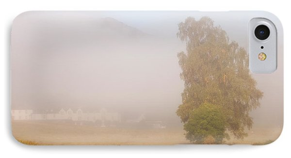 The Way To Never Never Land. Misty Roads Of Scotland Phone Case by Jenny Rainbow