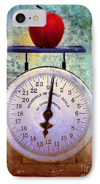 The Weight Of An Apple Phone Case by Tara Turner