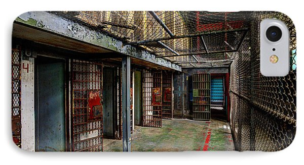 The West Virginia State Penitentiary Cells Phone Case by Dan Friend