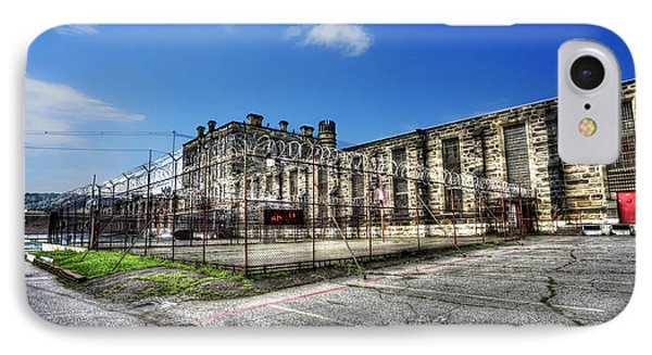 The West Virginia State Penitentiary Courtyard Outside Phone Case by Dan Friend