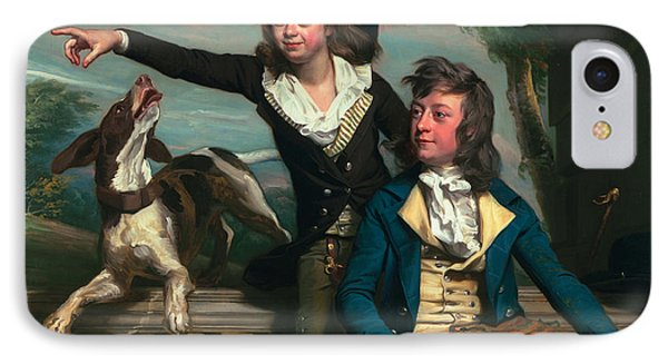 The Western Brothers IPhone Case by John Singleton Copley