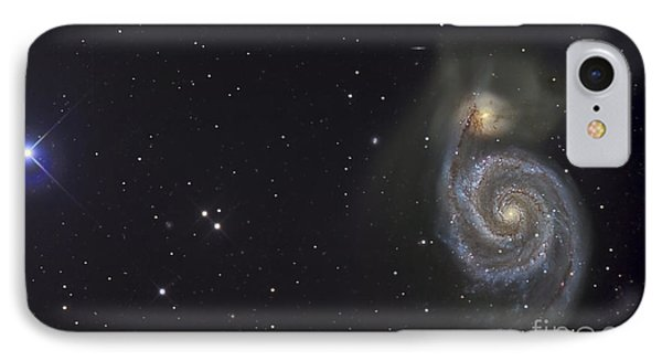 The Whirlpool Galaxy Phone Case by R Jay GaBany