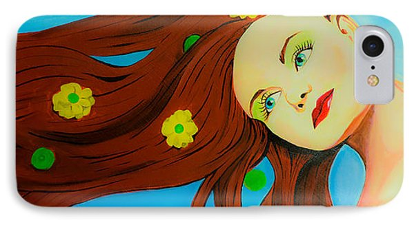 The Wind Blows A Kiss Phone Case by Chris  Leon