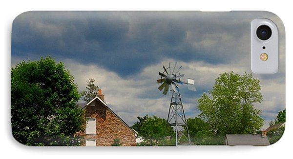The Windmill IPhone Case by Paul Ward