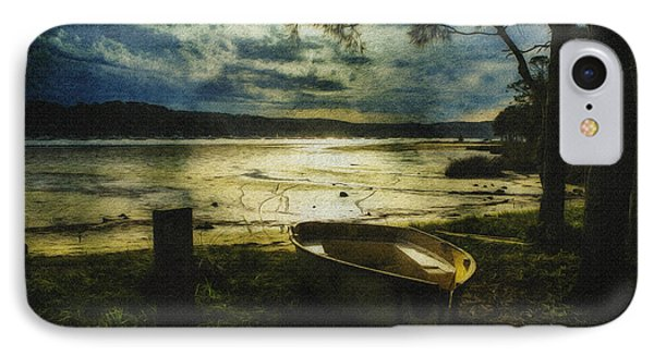 The Yellow Boat Phone Case by Avalon Fine Art Photography