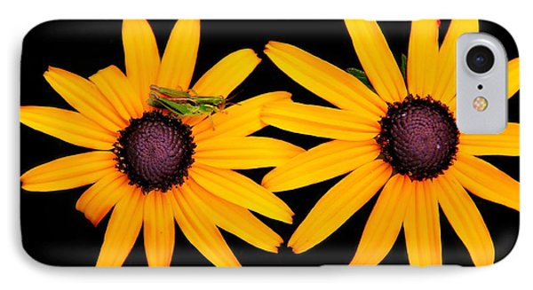 IPhone Case featuring the photograph The Yellow Rudbeckia by Davandra Cribbie