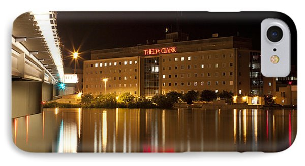 Theda Clark Hospital IPhone Case by Joel Witmeyer