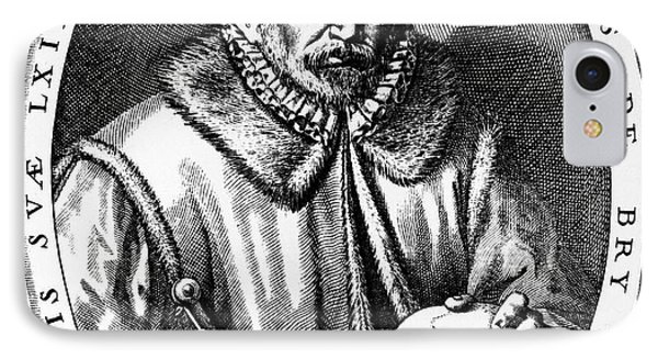 Theodor De Bry (1528-1598) Phone Case by Granger
