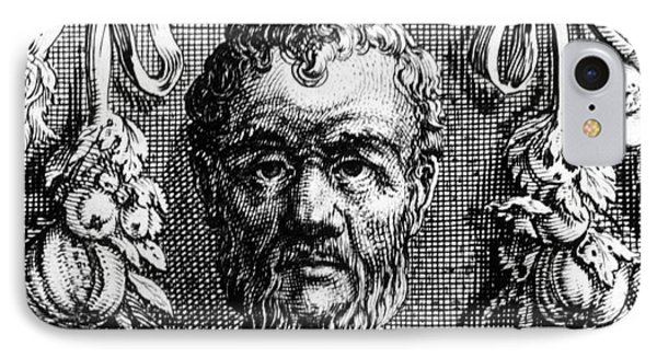 Theophrastus, Ancient Greek Polymath IPhone Case by Photo Researchers