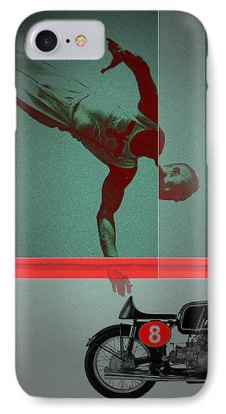 They Crossed That Line Phone Case by Naxart Studio