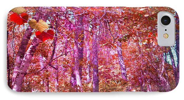 IPhone Case featuring the photograph Thicket In Color by George Pedro