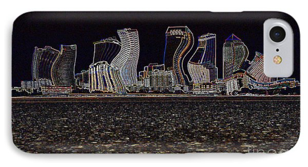 This City Is Rockin' Phone Case by Carol Groenen