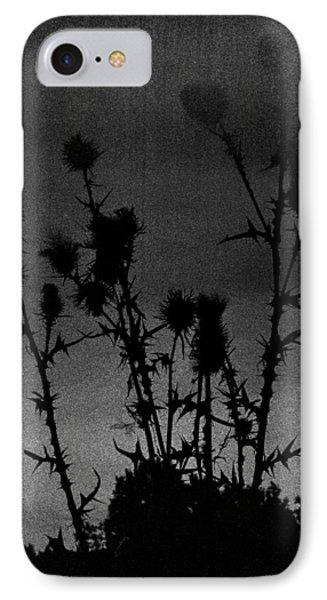 Thistles Phone Case by Hakon Soreide