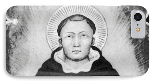 Thomas Aquinas, Italian Philosopher Phone Case by Science Source