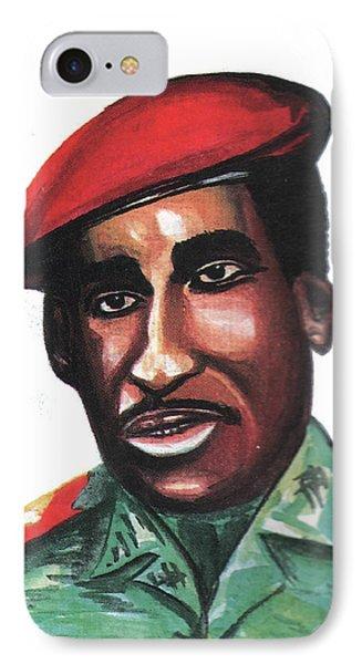 Thomas Sankara IPhone Case by Emmanuel Baliyanga