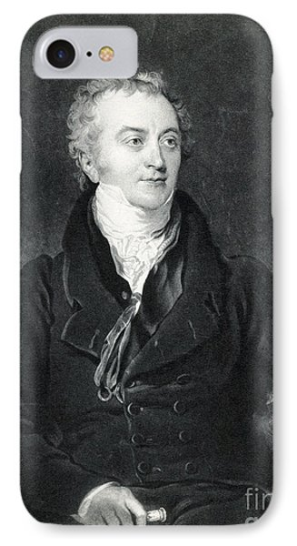 Thomas Young, English Polymath Phone Case by Photo Researchers