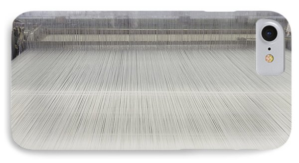 Threads In An Industrial Loom Phone Case by Magomed Magomedagaev