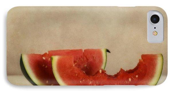 Three Bites Of Summer IPhone Case by Priska Wettstein