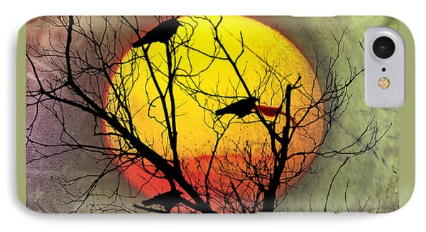 Three Blackbirds Phone Case by Bill Cannon