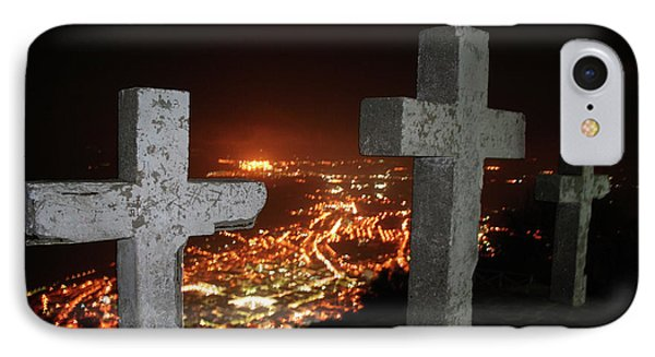 Three Crosses IPhone Case