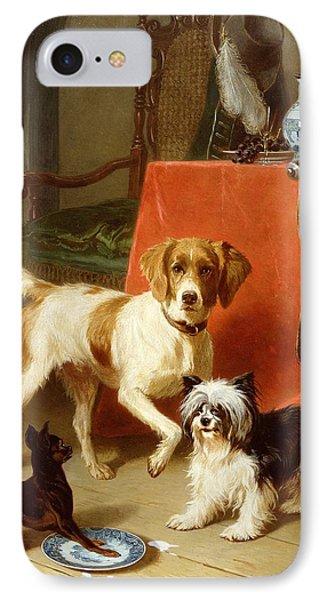 Three Dogs IPhone Case