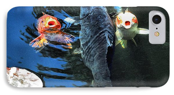 Three Is Crowd Phone Case by Don Mann
