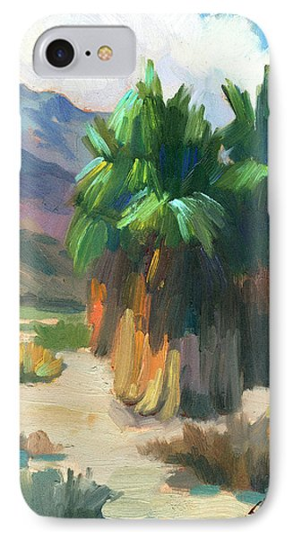 Three Palms IPhone Case by Diane McClary