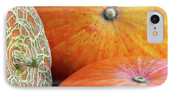Three Pumpkins IPhone Case by Carlos Caetano