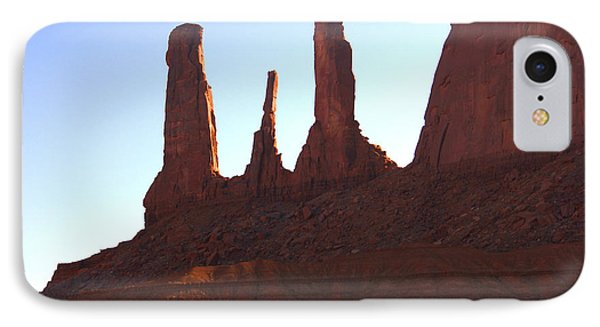 Three Sisters - Monument Valley IPhone Case
