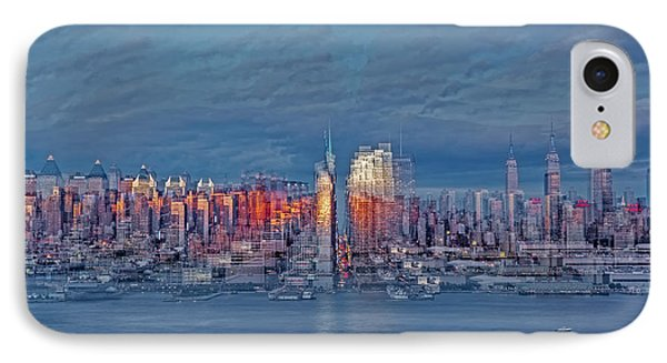Three Times New York City IPhone Case