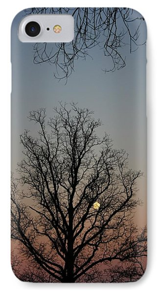 Through The Boughs Portrait IPhone Case by Dan Stone