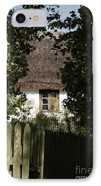 IPhone Case featuring the photograph Through The Bushes To The Window by Agnieszka Kubica