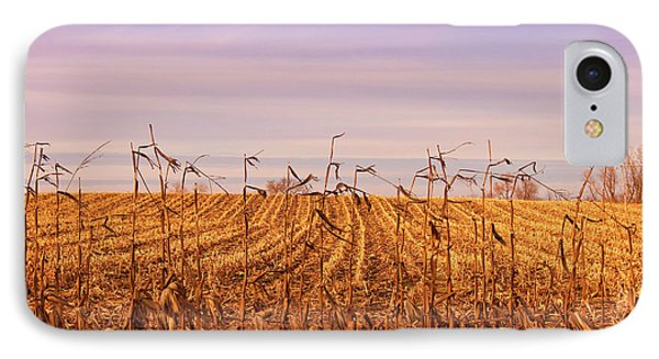 IPhone Case featuring the photograph Through The Cornfield by Rachel Cohen