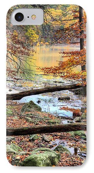 Through The Trees Phone Case by JC Findley